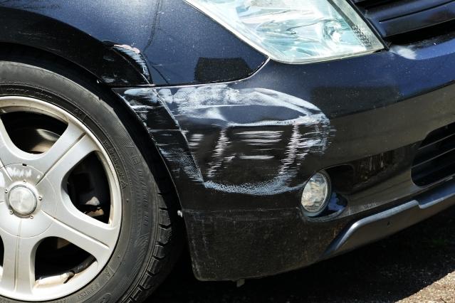 事故車の傷