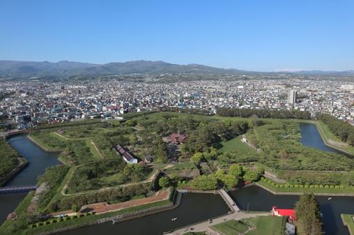 函館の五稜郭公園