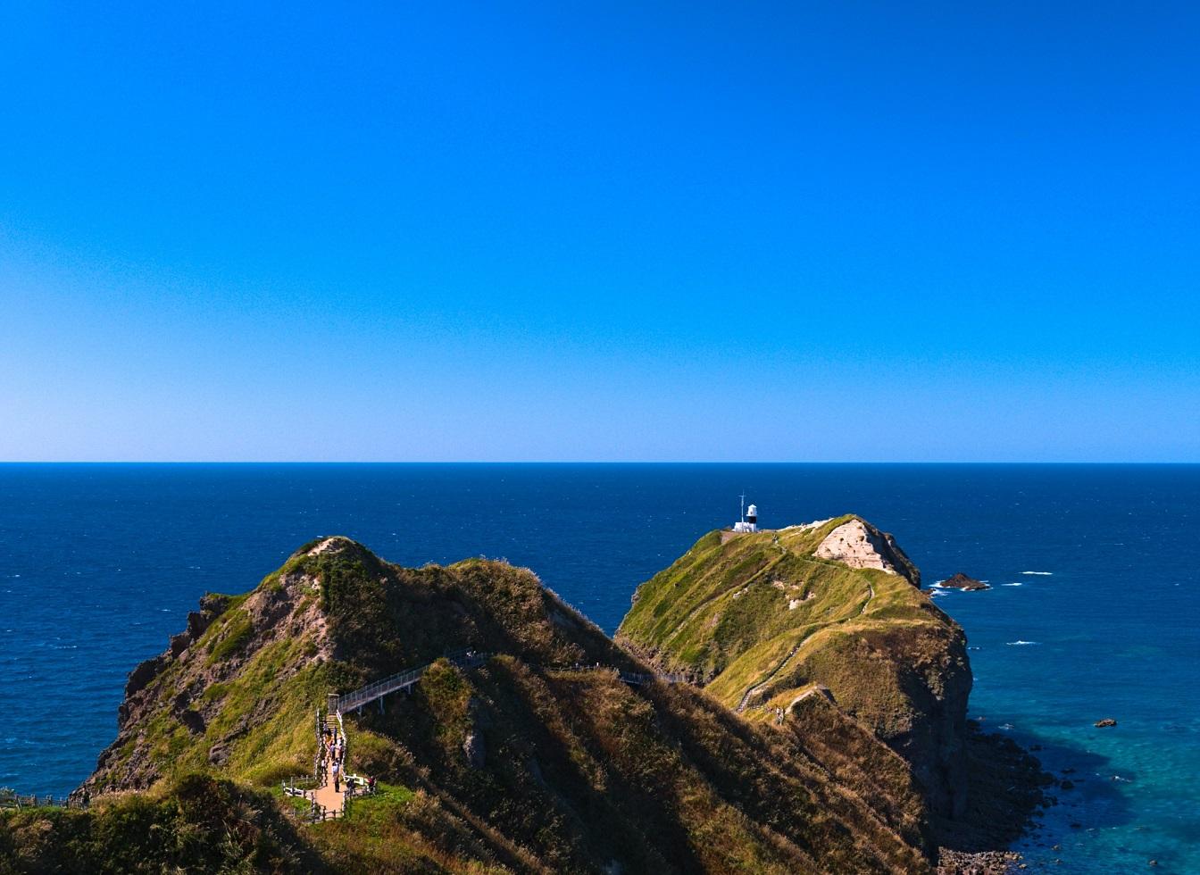 積丹半島の神威岬