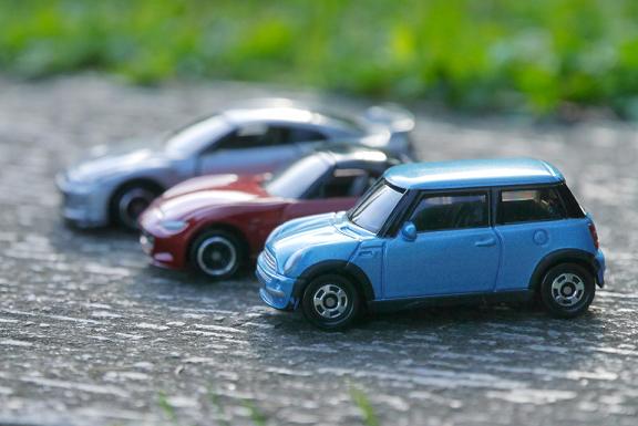 3台のトイカー