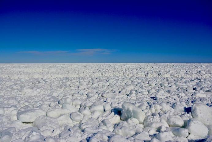 北見の流氷