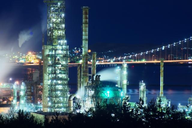 室蘭の工業夜景