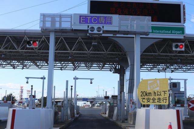 高速道路のETC専用ゲート