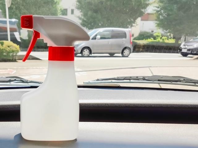 車内を除菌